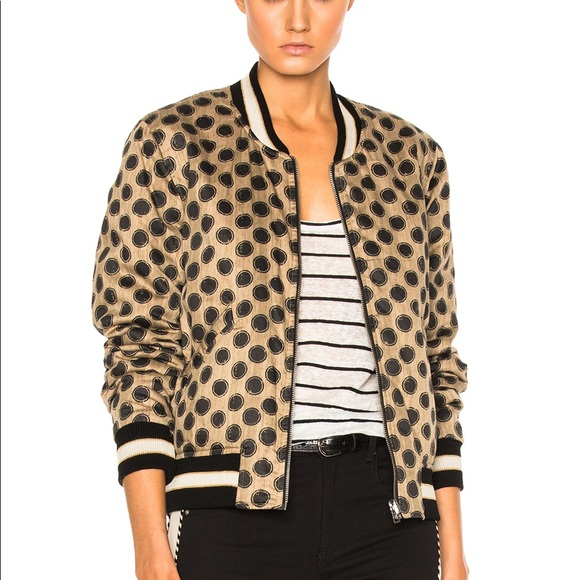 b23cb5a0c Etoile Isabel Marant Dabney Cotton Bomber Jacket